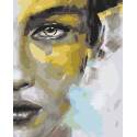 Серые глаза Раскраска картина по номерам на холсте ZX 23885