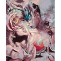Страстные мечты Раскраска картина по номерам на холсте ZX 23717