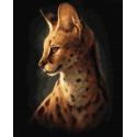 Сервал Раскраска картина по номерам на холсте ZX 23825
