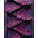 Фламинго на лесенке Раскраска картина по номерам на холсте ZX 23862