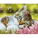 Цветочные сны малыша Раскраска картина по номерам на холсте ZX 23803