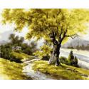 Дуб Болконского Раскраска картина по номерам на холсте ZX 23742