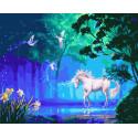 Волшебный лес фей Раскраска картина по номерам на холсте ZX 23637
