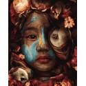Дитя природы Раскраска картина по номерам на холсте ZX 23881