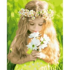 Детская скромность Раскраска картина по номерам на холсте GX32451
