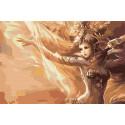 Магия света Раскраска картина по номерам на холсте AAAA-FIR111-100x150