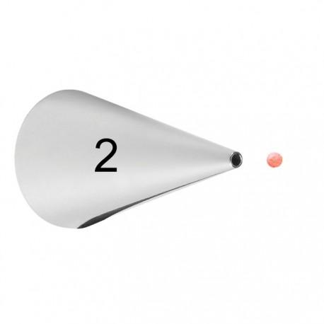 №2 Круглая Насадка для кондитерского мешка Wilton ( Вилтон )