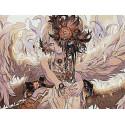 Ангел Раскраска картина по номерам на холсте AAAA-FIR114