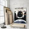 Пример картины в интерьере Радужная нить Раскраска картина по номерам на холсте AAAA-RS0061