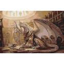Мудрый дракон Раскраска картина по номерам на холсте AAAA-GDS116-100x150