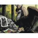 Грифон-художник Раскраска картина по номерам на холсте AAAA-GDS113-75x100