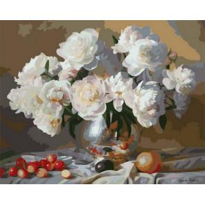Летний аромат цветов Раскраска картина по номерам на холсте PK68008