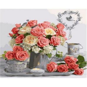 Сладкий аромат роз Раскраска картина по номерам на холсте GX36060