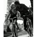 Влюбленные на велосипедах Раскраска картина по номерам на холсте PK68021