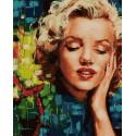 Мечты Мэрилин Раскраска картина по номерам на холсте PK68069
