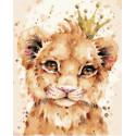 Молодой король Раскраска картина по номерам на холсте PK68053