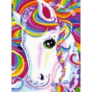 Волшебный пони Раскраска картина по номерам на холсте PKC59110