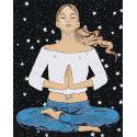 Медитация Раскраска картина по номерам на холсте AAAA-DV05