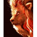 Сила льва Раскраска картина по номерам на холсте PK59038