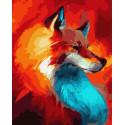 Рыжая Раскраска картина по номерам на холсте ZX 23937