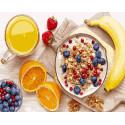 Завтрак чемпиона Раскраска картина по номерам на холсте ZX 20156