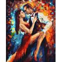 Блеск танго Раскраска картина по номерам на холсте ZX 23344