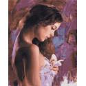 Нежность кожи Раскраска картина по номерам на холсте ZX 23283