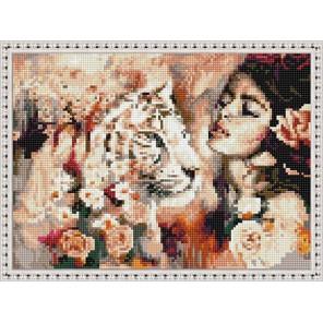 Природа женщины Алмазная вышивка мозаика на подрамнике EQ10381