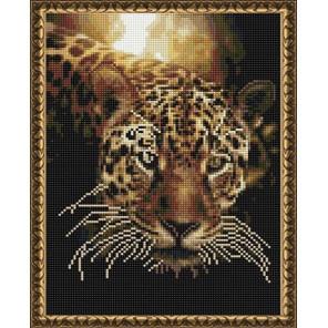 Гепард на закате Алмазная вышивка мозаика на подрамнике EQ10367
