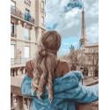Осень по-французски Раскраска картина по номерам на холсте PK72046