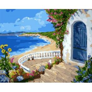 Райский уголок Раскраска картина по номерам на холсте PK72027