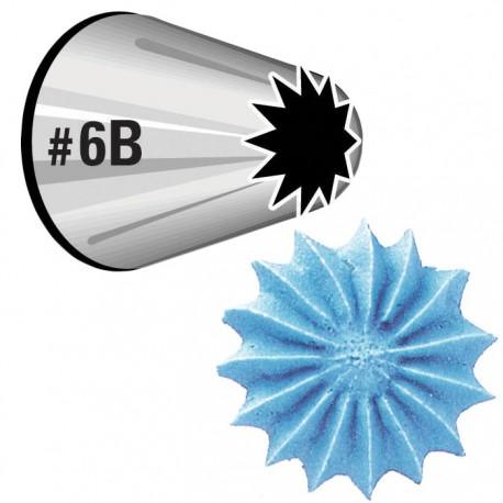 №6В Открытая звезда Насадка для кондитерского мешка Wilton ( Вилтон )