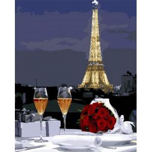 Романтический ужин Раскраска картина по номерам на холсте PK72015