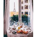 Сытный французский обед Раскраска картина по номерам на холсте PK72009