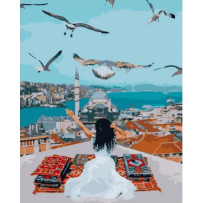 Свобода полета Раскраска картина по номерам на холсте PK72004