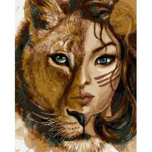 Львиный настрой Раскраска картина по номерам на холсте PK72001