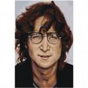 Джон Леннон 80х120 Раскраска картина по номерам на холсте