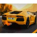 Lamborghini Aventador Раскраска картина по номерам на холсте