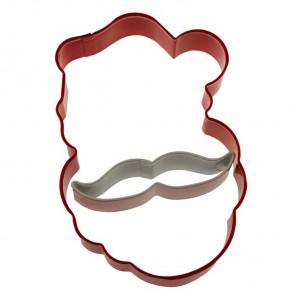 Санта с усами Формы металлические для вырезания печенья Wilton ( Вилтон )