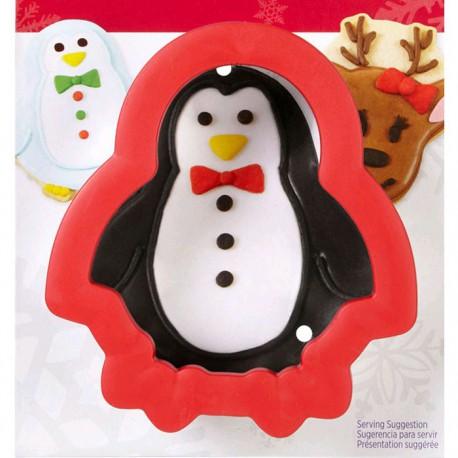 Пингвин Форма металлическая для вырезания печенья Wilton ( Вилтон )
