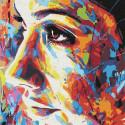 В стиле граффити Раскраска картина по номерам на холсте KHM0056