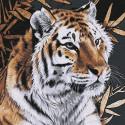 Тигр Раскраска картина по номерам на холсте KHM0057
