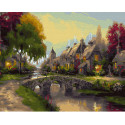 Сказочный вечер Раскраска картина по номерам на холсте KH0603