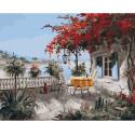 Уютный уголок Раскраска картина по номерам на холсте KH0611