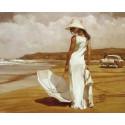 В стиле ретро Раскраска картина по номерам на холсте KH0658