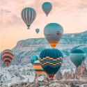 Фестиваль воздушных шаров Алмазная мозаика вышивка на подрамнике Molly KM0709