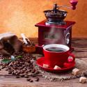Кофейный аромат Алмазная мозаика вышивка на подрамнике Molly KM0688