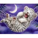 Спокойной ночи Алмазная мозаика вышивка на подрамнике Molly KM0837
