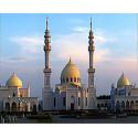 Татарстан. Белая мечеть Булгара Алмазная мозаика вышивка на подрамнике Molly KM0858
