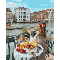 Доброе утро в Венеции Раскраска картина по номерам на холсте MCA962